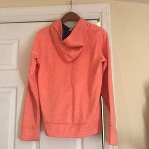 Under Armour Tops - Under Armor Orange Hoodie